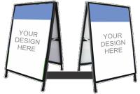 A Frame - A Frame Signs - Border Frame - Large Poster Frames | PrintPlus